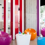 The Pantone Hotel Sitting Area