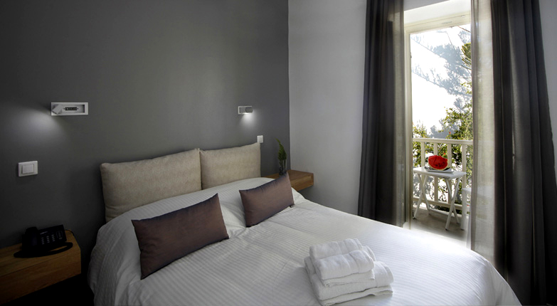 Fresh boutique hotel mykonos stay with style for Boutique hotel style bedroom
