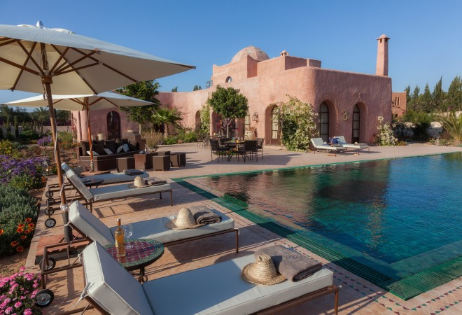 Stylish tips with kids le jardin des douars stay with style for Jardin villa maroc